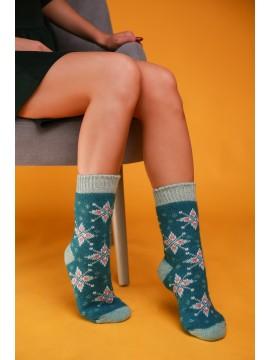 """Женские носки """"Зеленые"""""""